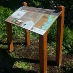 4-leg lectern with Multiguard® panel