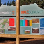 Timber structures with information panels