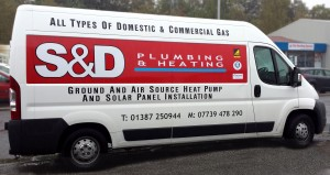 Van Livery by Border Signs & Graphics