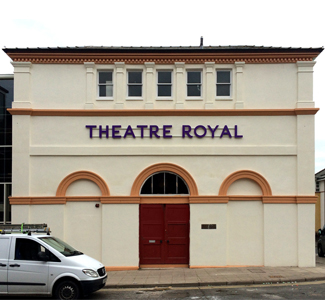 Illuminated signage for Theatre Royal - Dumfries