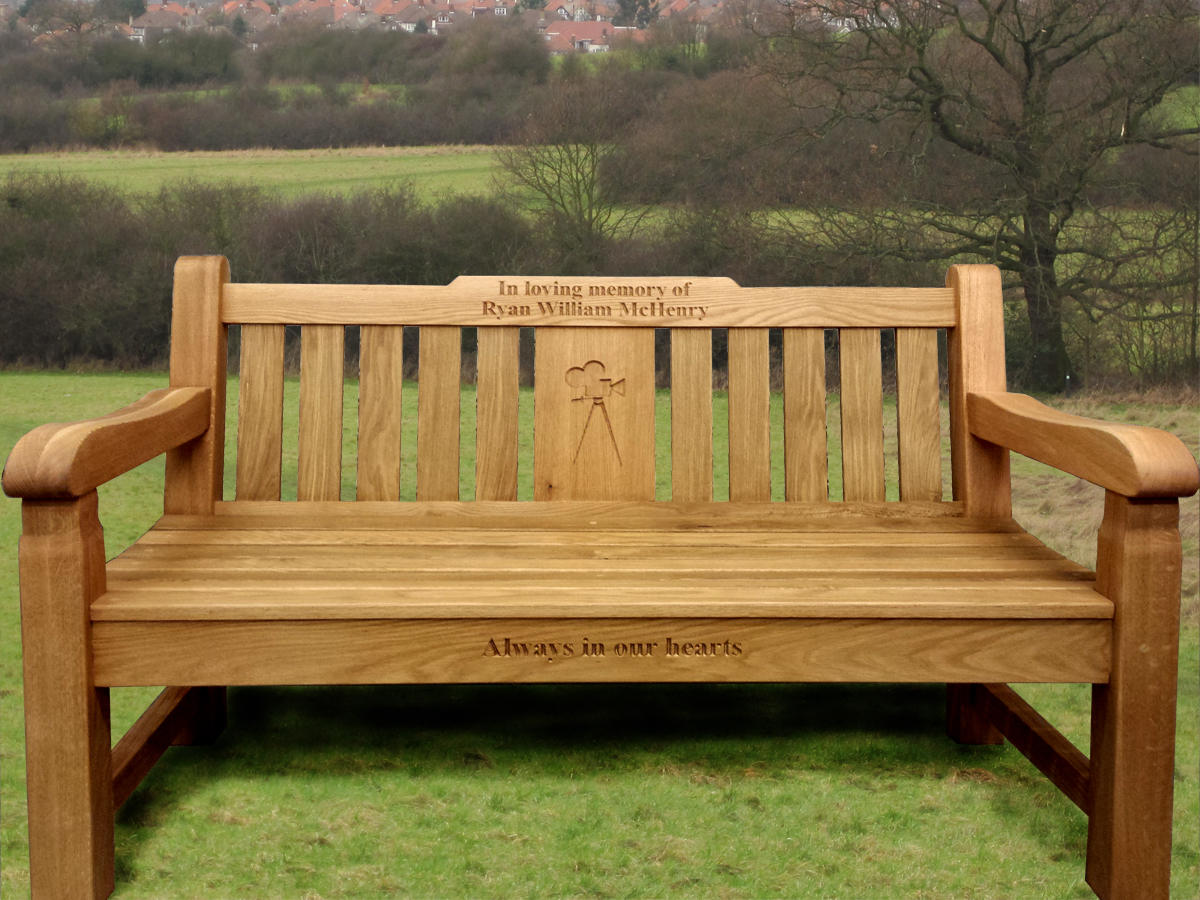 Border Signs Graphics Memorial Benches