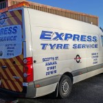 A business card on wheels | Car Graphics by Border Signs & Graphics