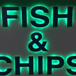 Illuminated Shop Signage by Border Signs & Graphics