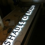 Border Signs & Graphics - Illuminated Shop Signage