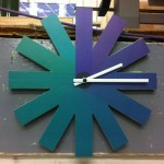 Still at our workshop, Indoor signage for Natual Power