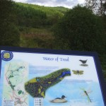 Interpretation panel Water of Trool