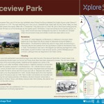 Multiguard® interpretive panel Bannockburn -Stirling