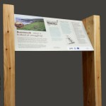 Bespoke design Multiguard® interpretive lectern