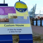 Inverclyde Coastal Trail, Steel lectern with laser cut graphics, and Multiguard® interpretive panels