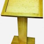 Freestanding lectern