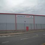 Large Printed sign - Franklin Steel