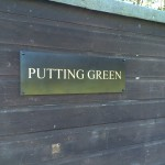 Signage for Silloth Green - Cumbria