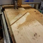 CNC Router-in-action