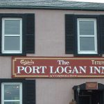 Shop signage Port-Lagan-Inn