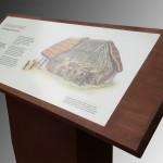 Bespoke design, lectern for Tullaghoge Fort - Ireland
