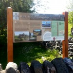 Upright structure with Multiguard® interpretive panel - Luss, Loch Lomond