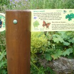 Waymarker - Signpost with movable panel