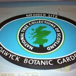 Plaque for Dawyck Botanic Garden