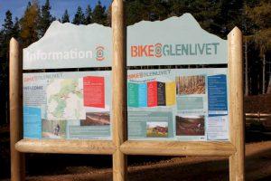 glenlivet-upright-structure,wooden Structure-signage