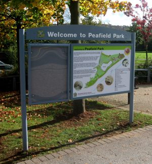 peafield-park-noticeboard