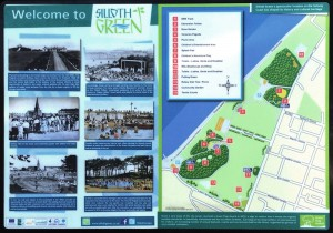 Silloth interpretation panel