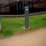 Directional Signage in steel