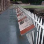 Fence mounted Multiguard® interpretive panels