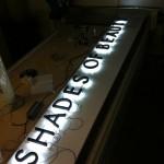 Border Signs & Graphics - Illuminated Shop Signage