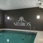 Indoor signage for Neuro's Spa & Restaurant - Dumfries