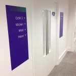 Indoor signage for Natual Power