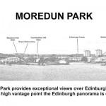 Interpretation panel Moredun-Park