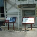 Steel lecterns with Multiguard® interpretive panel