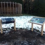 Lecterns with Multiguard® interpretive panels for Dark Skies project