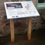 Timber Lectern with Multiguard® interpretive panels for Dark Skies project