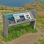 Timber lectern with Multiguard® panel for North York Moors National Park