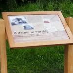 Timber lectern - Ponteland