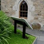 Lectern Queen Mother Memorial Garden - rear view