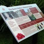 Lectern Queen Mother Memorial Garden
