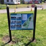 Bespoke design Steel lectern - Silloth Green - Cumbria