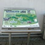 Stainless steel lectern, Falkirk Wheel