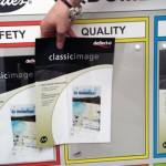 For Gates - Dumfries - Indoor noticeboard with 6 Perspex holders for A4 leaflets