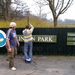 Border Signs & Graphics - Men at work
