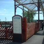 Signage for Buckinghamshire Railway Centre