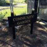 Bespoke signage for Silloth Green - Cumbria