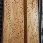 Routed timber