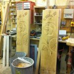 Routed timber - Workshop Border Signs & Graphics