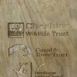 Routed Timber - Cheshire Wildlife Trust