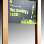 Signage for The Ecology Centre