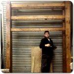 Large timber frames in our workshop