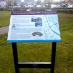 Plaswood (recycled plastic) lectern - Bannockburn - Stirling